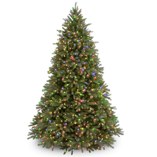 6.5' Pre-Lit Jersey Fraser Fir Artificial Christmas Tree - Multi-Color Lights - IMAGE 1