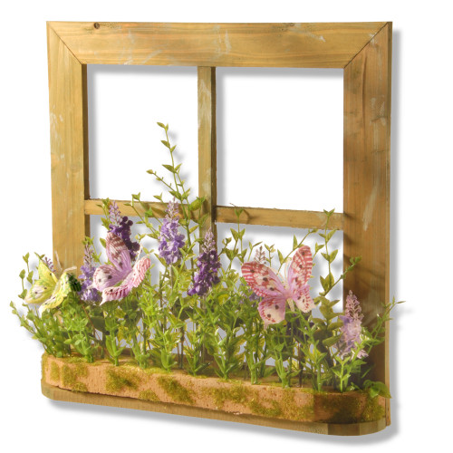 """14"""" Flowers and Butterflies Frame - IMAGE 1"""