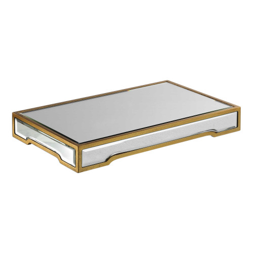 """2.25"""" Carly Mirrored Tray - IMAGE 1"""