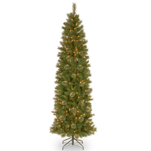 6.5' Pre-Lit Tacoma Pine Artificial Christmas Tree - Clear Lights - IMAGE 1