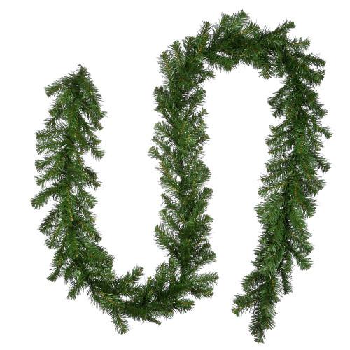 "9' x 10"" Kincaid Spruce Artificial Christmas Garland - Unlit - IMAGE 1"