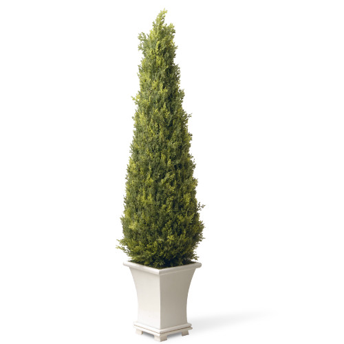 """42"""" Potted Upright Juniper Artificial Tree - IMAGE 1"""