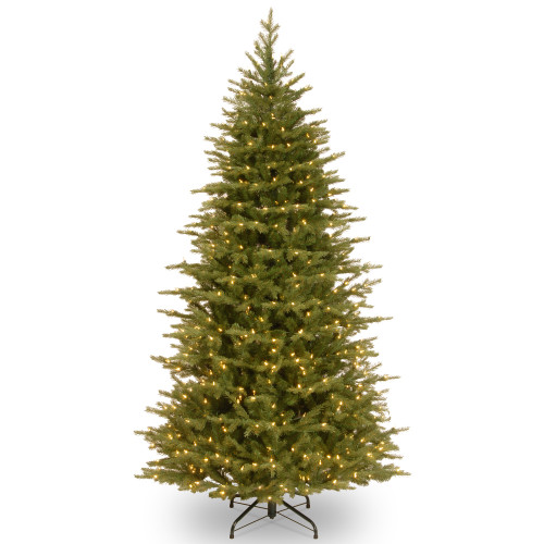 6.5' Pre-Lit Nordic Spruce Artificial Christmas Tree – Clear Lights - IMAGE 1