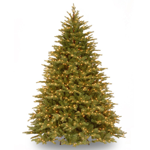 6.5' Pre-Lit Nordic Spruce Artificial Christmas Tree - Clear Lights - IMAGE 1