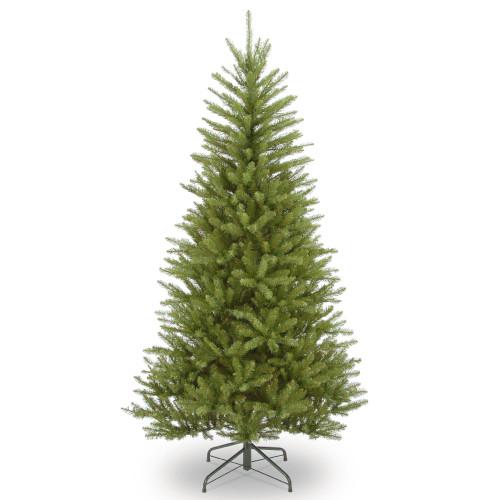 6.5' Dunhill Fir Slim Artificial Christmas Tree –Unlit - IMAGE 1