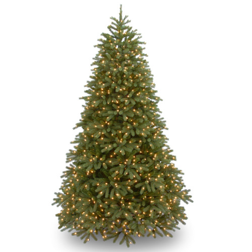 6.5' Pre-Lit Jersey Fraser Fir Medium Artificial Christmas Tree – Clear Lights - IMAGE 1