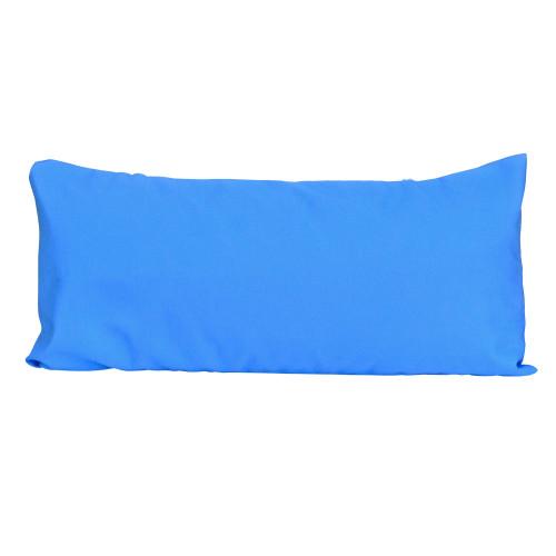 "33"" Blue Hammock Rectangular Pillow with Tie-offs - IMAGE 1"