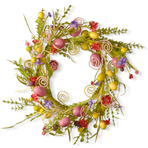 Garden Accents Easter Wreath - 24-Inch - IMAGE 1