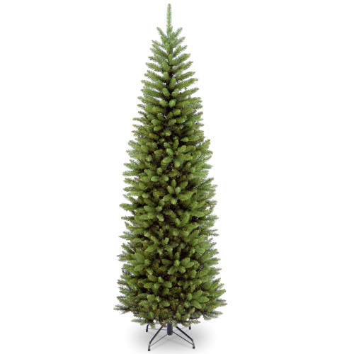 7' Kingswood Fir Pencil Artificial Christmas Tree – Unlit - IMAGE 1