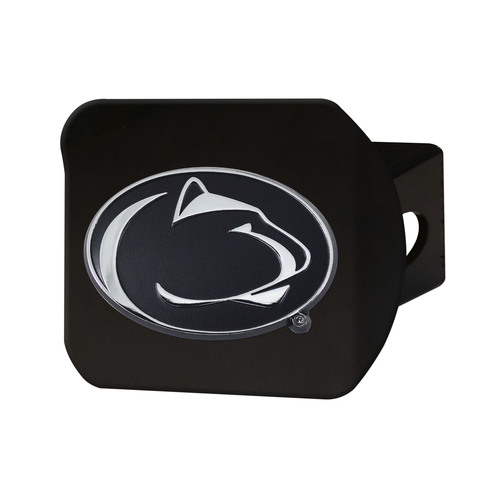 NCAA Penn State Nittany Lions  Black Hitch Cover Automotive Accessory - IMAGE 1