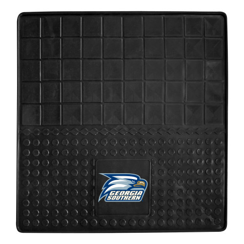 """31"""" x 31"""" Black and Blue NCAA Eagles Cargo Mat for Car Trunk - IMAGE 1"""