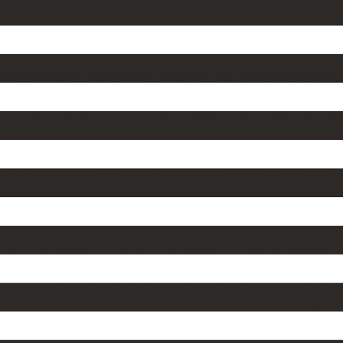 "Pack of 6 Black and White Stripe Patterned Rectangular Photo Backdrop 72"" - IMAGE 1"