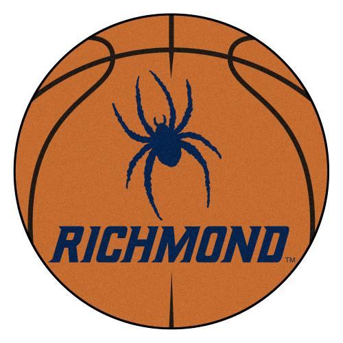 "27"" Orange and Blue NCAA University of Richmond Spiders Basketball Door Mat - IMAGE 1"