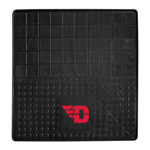 """31"""" x 31"""" Black and Red NCAA University of Dayton Flyers Cargo Mat for Car Trunk - IMAGE 1"""