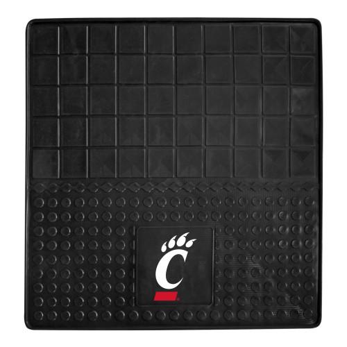 "31"" x 31"" Black NCAA University of Cincinnati Bearcats Heavy Duty Cargo Mat - IMAGE 1"