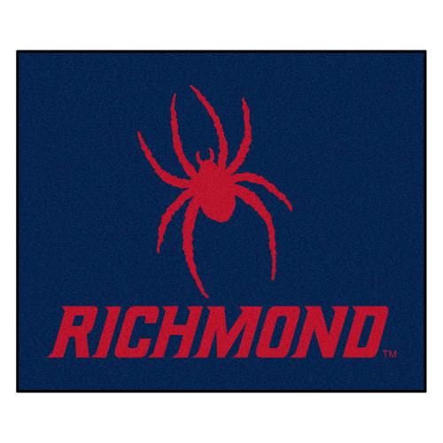 "59.5"" x 71"" Blue NCAA University of Richmond Spiders Rectangular Tailgater Mat - IMAGE 1"