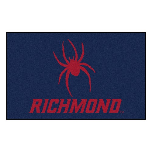 "59.5"" x 94.5"" Red and Blue NCAA University of Richmond Spiders Ulti-Mat Rectangular Mat - IMAGE 1"