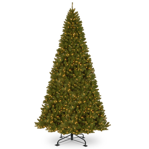 12' Pre-Lit North Valley Spruce Artificial Christmas Tree - Clear Lights - IMAGE 1