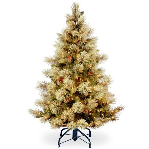 4.5 ft. Carolina Pine Tree with Clear Lights - IMAGE 1