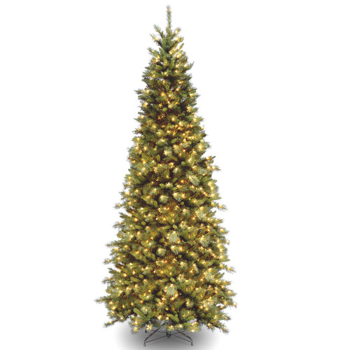 10' Pre-Lit Tiffany Fir Artificial Christmas Tree - Clear Lights - IMAGE 1