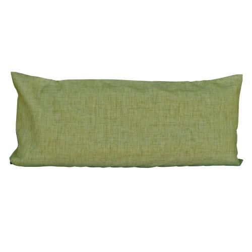 "33"" Kiwi Green Hammock Rectangular Pillow with Tie-offs - IMAGE 1"