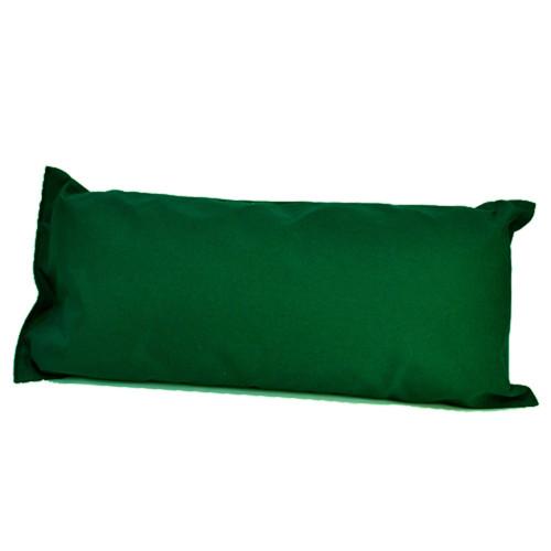 "33"" Green Hammock Rectangular Pillow with Tie-offs - IMAGE 1"