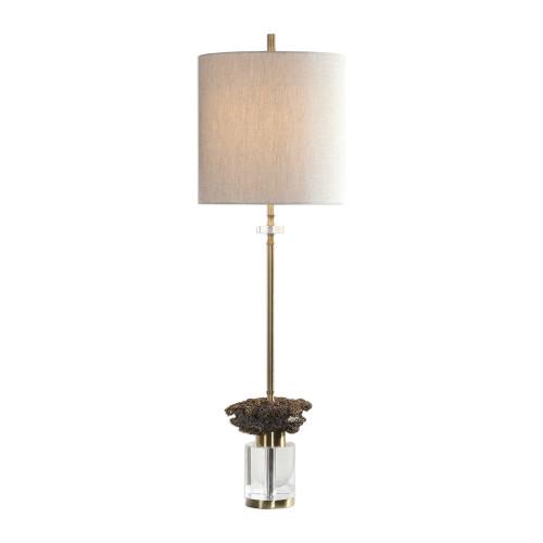 "34"" Kiota Wasp's Nest Buffet Lamp - IMAGE 1"