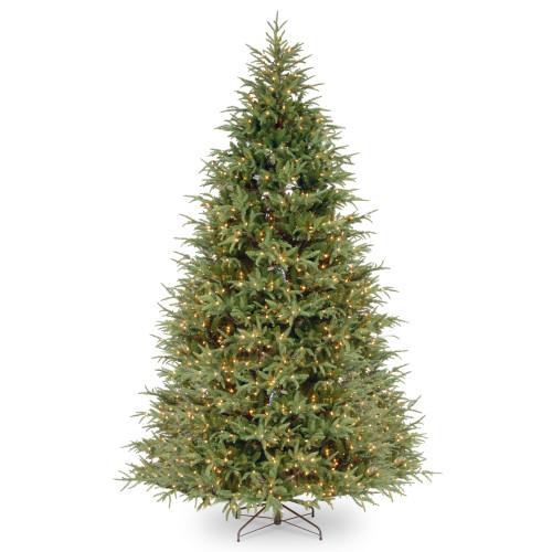 9' Pre-Lit Frasier Grande Artificial Christmas Tree - Clear Lights - IMAGE 1