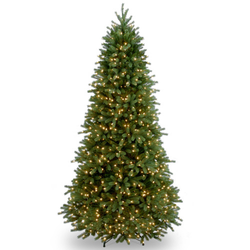 6.5' Pre-Lit Jersey Fraser Fir Artificial Christmas Tree – Clear Lights - IMAGE 1