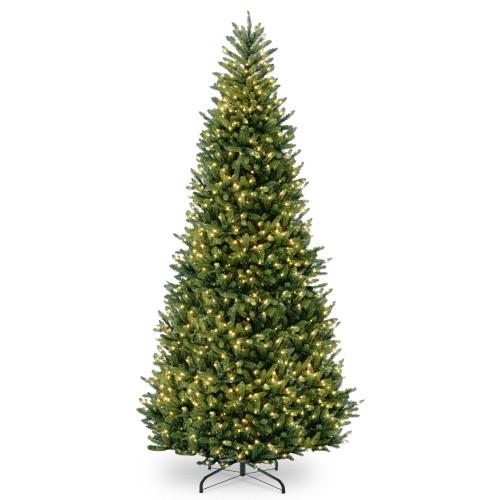 10' Pre-Lit Natural Fraser Medium Fir Artificial Christmas Tree - Clear Lights - IMAGE 1