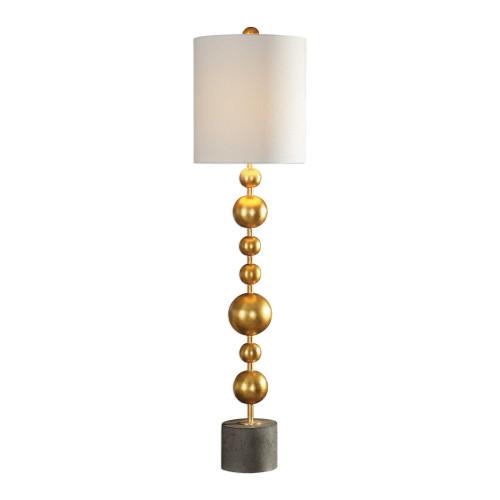"39"" Selim Gold Buffet Lamp - IMAGE 1"