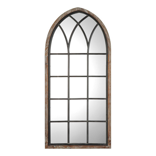 """63"""" Cathedral Style Arched Wall Mirror - IMAGE 1"""