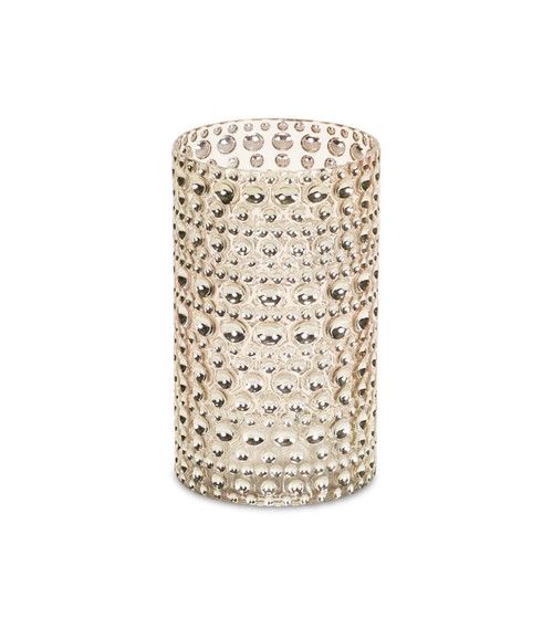 """Pack of 6 Gold Contemporary Votive Candle Holders 9"""" - IMAGE 1"""