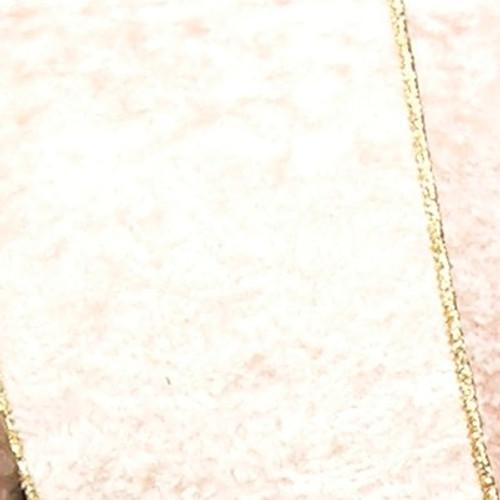 "Ivory and Gold Persian Craft Ribbon 4"" x 20 Yards - IMAGE 1"