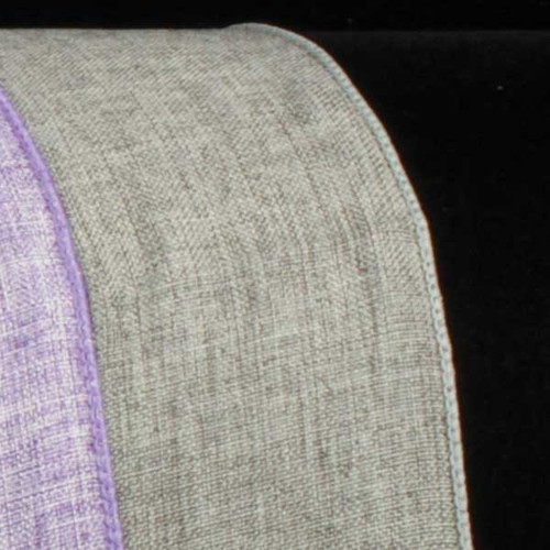 """Slate Gray Solid Wired Craft Ribbon 1.5"""" x 40 Yards - IMAGE 1"""