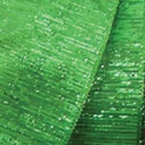 "Green Glitter Wired Craft Ribbon 0.75"" x 108 Yards - IMAGE 1"