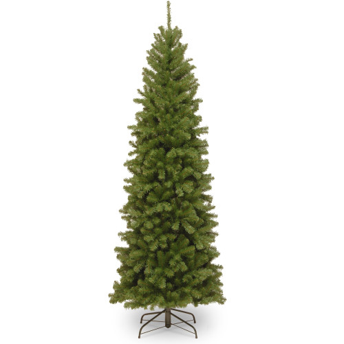 6' North Valley Spruce Pencil Slim Artificial Christmas Tree - Unlit - IMAGE 1