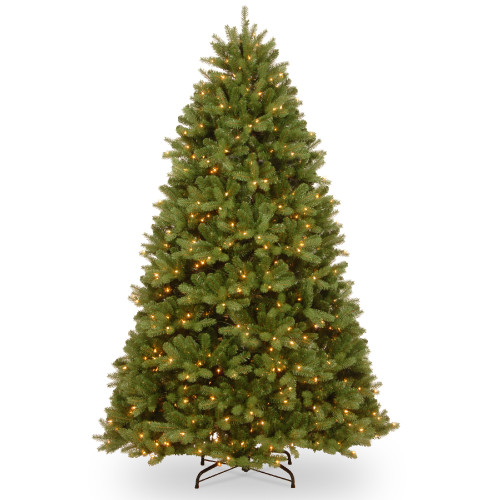 6.5' Pre-Lit Newberry Spruce Artificial Christmas Tree – Clear Lights - IMAGE 1