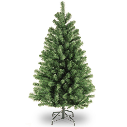 4.5' North Valley Spruce Artificial Christmas Tree - Unlit - IMAGE 1