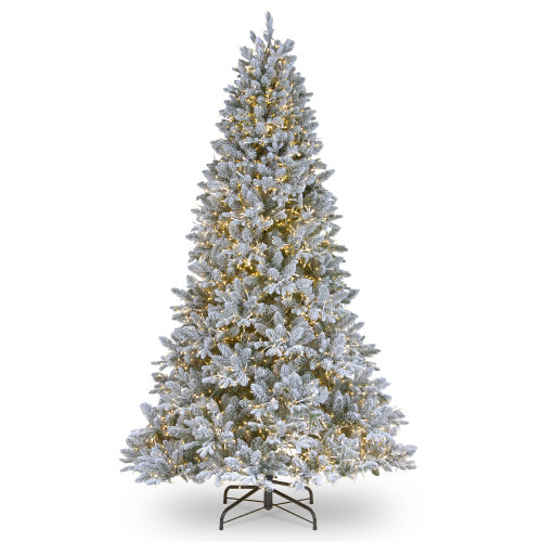 6.5' Pre-Lit Iceland Fir Artificial Christmas Tree – Clear Lights - IMAGE 1