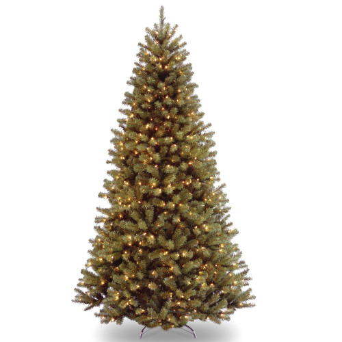6.5' Pre-lit North Valley Spruce Artificial Christmas Tree – Clear Lights - IMAGE 1