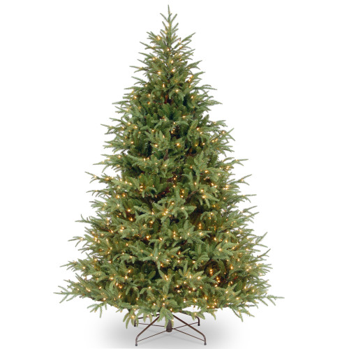 6.5' Pre-Lit Frasier Grande Artificial Christmas Tree - Clear Lights - IMAGE 1