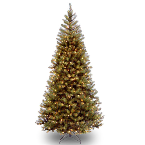 6 ft. Pre-Lit Aspen Spruce Artificial Christmas Tree - Clear Lights - IMAGE 1