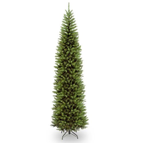 10' Kingswood Fir Pencil Artificial Christmas Tree - Unlit - IMAGE 1
