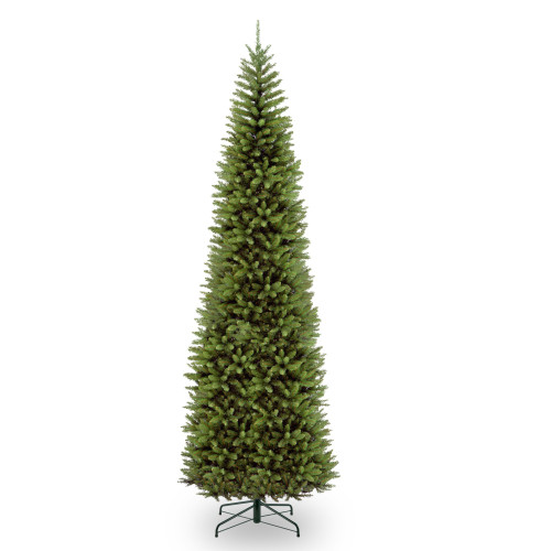 12' Kingswood Fir Pencil Artificial Christmas Tree - Unlit - IMAGE 1