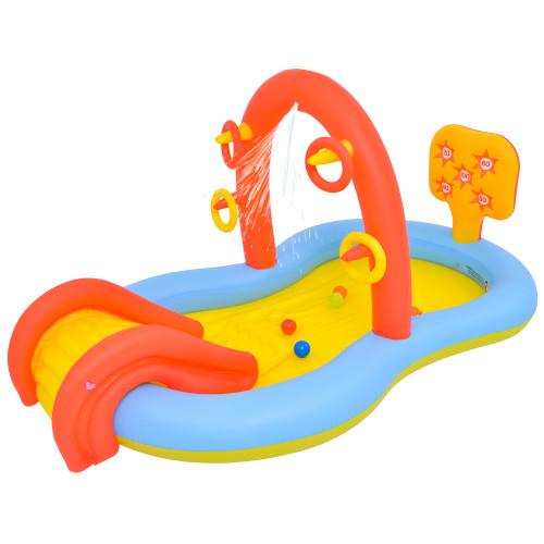7.25' Inflatable Children's Interactive Water Play Center - IMAGE 1