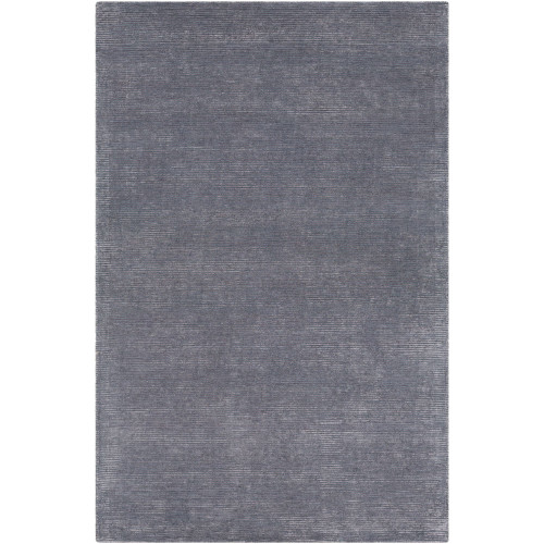 9' x 12' Solid Gray Rectangular Area Throw Rug - IMAGE 1