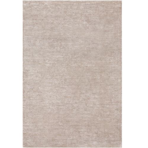 3' Distressed Brown Rectangular Hand Tufted Area Throw Rug - IMAGE 1