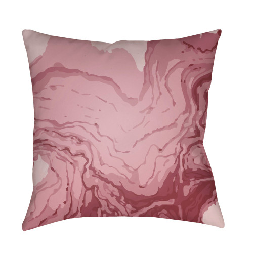"""20"""" Bright Purple Square Pillow Cover with Knife Edge - IMAGE 1"""