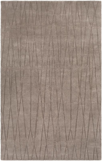 5' x 8' Moroccan Patterned Gray Rectangular Area Throw Rug - IMAGE 1